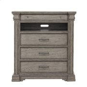 Madison Ridge 3 Drawer Media Chest in Heritage Taupe Product Image