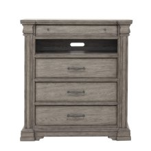 Madison Ridge 3 Drawer Media Chest in Heritage Taupe