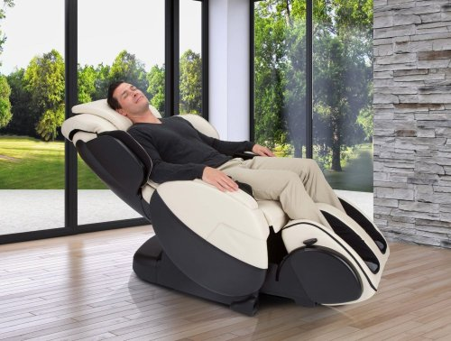 Bali Massage Chair - Human Touch - BlackSofHyde