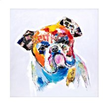 Safia the Dog Oil Painting