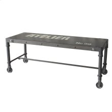 Soho Bench Black