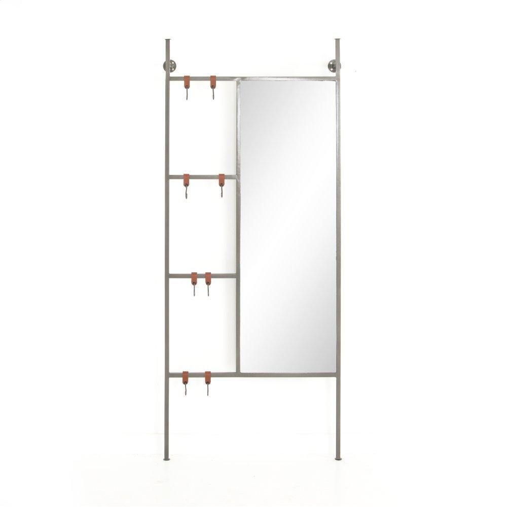 Enloe Entryway Mirror-coated Gunmetal