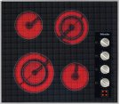 KM 5621 240V Electric cooktop with four cooking zones and direct rotary dial controls for maximum convenience. Product Image