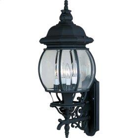 Crown Hill 4-Light Outdoor Wall Lantern