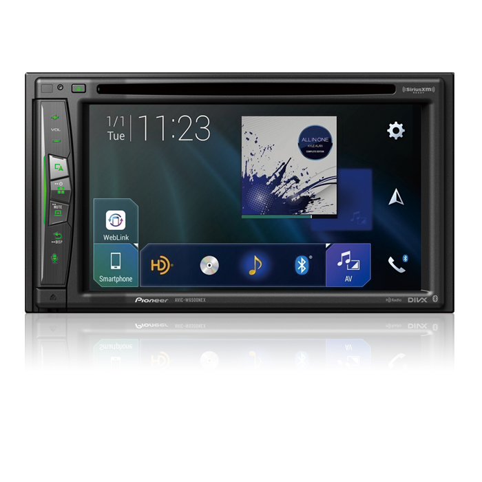 Flagship In-Dash Navigation AV Receiver with 6.2 ? WVGA Clear Resistive Touchscreen Display