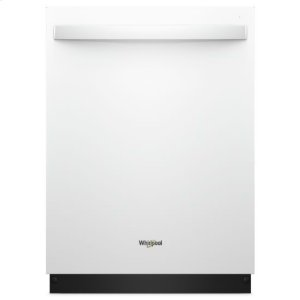 Whirlpool(R) Stainless Steel Tub Dishwasher with TotalCoverage Spray Arm - White - WHITE