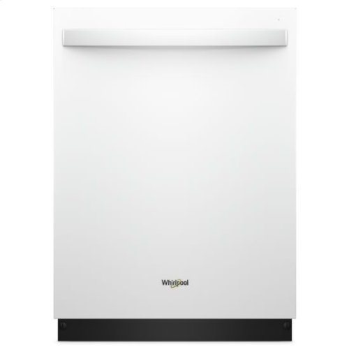 Whirlpool® Stainless Steel Tub Dishwasher with TotalCoverage Spray Arm - White