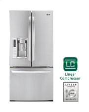 """Ultra-Large Capacity 3 Door French Door Refrigerator with Ice & Water Dispenser (Fits a 33"""" Opening) Product Image"""