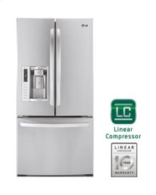 """Ultra-Large Capacity 3 Door French Door Refrigerator with Ice & Water Dispenser (Fits a 33"""" Opening)"""