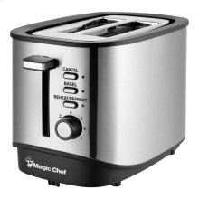 2-Slice Toaster in Stainless Steel