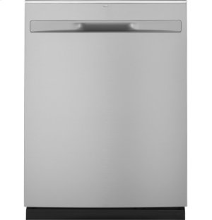 GE® Hybrid Stainless Steel Interior Dishwasher with Hidden Controls Product Image