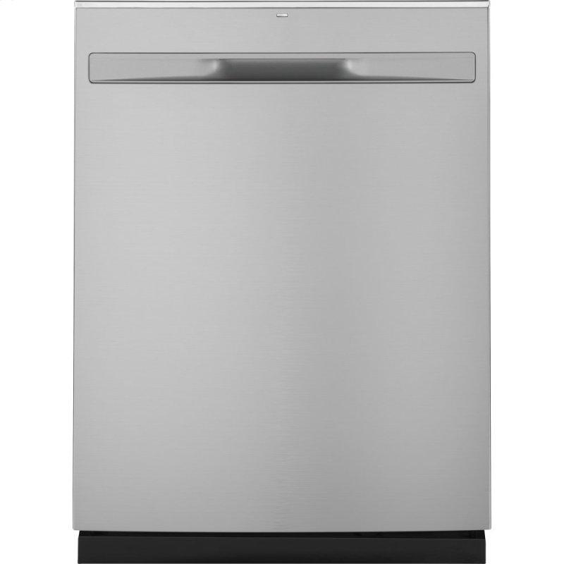®Hybrid Stainless Steel Interior Dishwasher with Hidden Controls