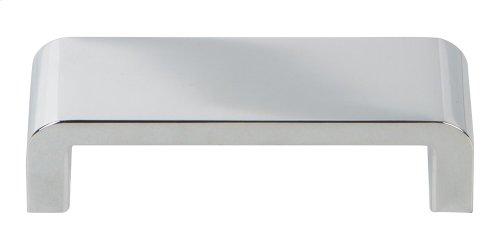 Platform Pull 3 3/4 Inch - Polished Chrome