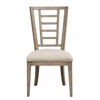 Academy Upholstered Ladderback Dining Chair Product Image