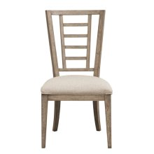 Academy Upholstered Ladderback Dining Chair
