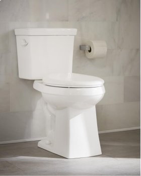 "White Blaze® 1.28 Gpf 12"" Rough-in Two-piece Elongated Ergoheight Toilet"