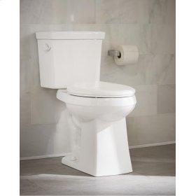 "White Burr Ridge 1.28 Gpf 12"" Rough-in Two-piece Elongated Ergoheight Toilet"