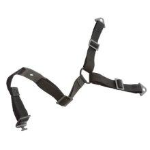Black Anti-Tip Strap Reduces the risk of TVs or furniture accidentally tipping