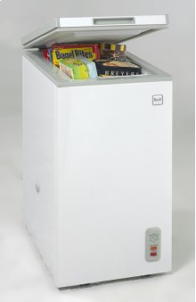 2.1 Cu. Ft. Chest Freezer - White