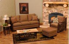 Upholstered Sofa Cedar Log, Upgrade Leather