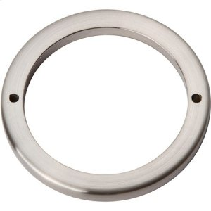 Tableau Round Base 3 Inch - Brushed Nickel Product Image