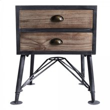 Armen Living Mathis Industrial End Table