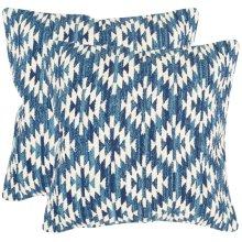 Midnight Desert Pillow - Blue