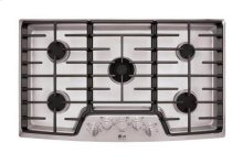 """LG Studio - 36"""" Gas Cooktop with the Professional Look of Stainless Steel (Clearance Sale Store: Owensboro only)"""