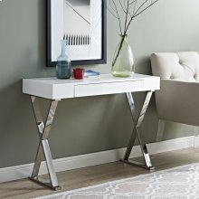 Sector Console Table in White