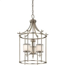 Tallie Collection Tallie Large Foyer Pendant 3 Light AP