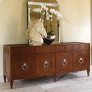 French Key Everything Cabinet-Dark Oak Product Image