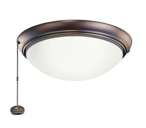 """LED Low-Profile 11.5"""" Light Kit Oil Brushed Bronze"""