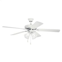 """52"""" Basics Premier Collection 52 Inch Kichler Basics Premier Ceiling Fan - WH1"""