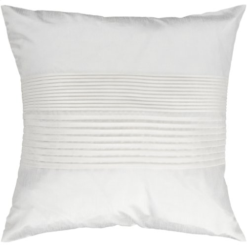 """Solid Pleated HH-017 22"""" x 22"""" Pillow Shell Only"""