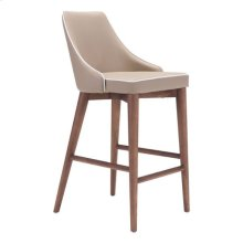 Moor Counter Chair Beige