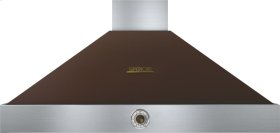 Hood DECO 48'' Brown matte, Bronze 1 blower, analog control, baffle filters