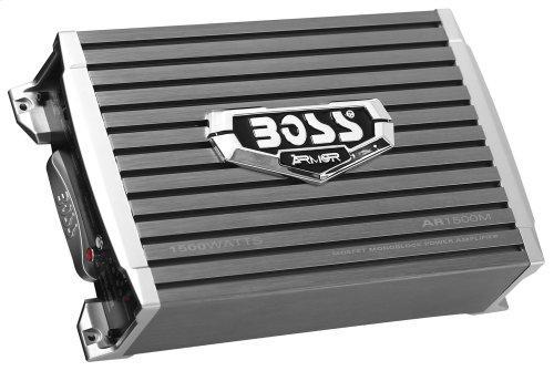 "Armor 1500W Monoblock, Class A/B Amplifier Dimensions 10.31""L 6.5""W 2.8""H"