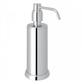 Polished Chrome Perrin & Rowe Holborn Free Standing Soap Dispenser
