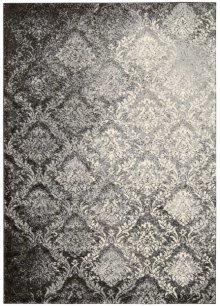 Santa Barbara Ki201 Gry Rectangle Rug 9'3'' X 12'9''