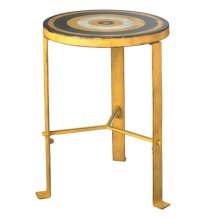 Yellow Bull's-eye Stool