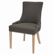 Charlotte Fabric Chair NWO Legs, Toffee