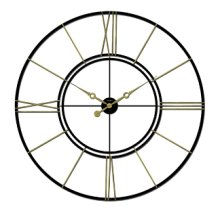 Iron Wall Clock