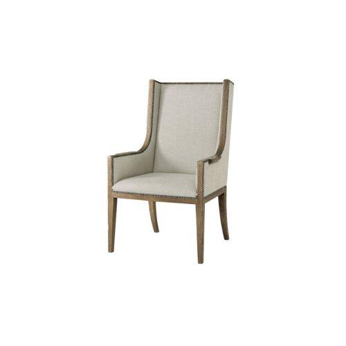 Aston Armchair, #plain# - Light Echo Oak