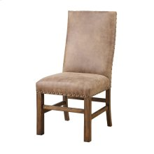 Emerald Home Chambers Creek Side Chair W/nailhead Fully Upholstered Brown D412-21