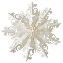 Tiara Snowflake Hanging Pendant.