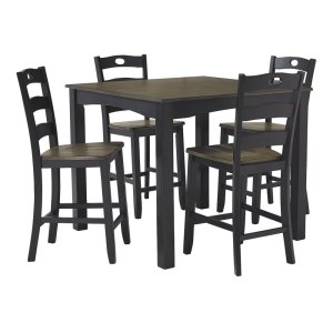 Ashley FurnitureSIGNATURE DESIGN BY ASHLESquare Counter TBL Set (5/CN)