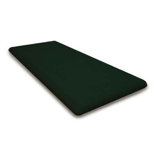 "Forest Green Seat Cushion - 43.5""D x 18.5""W x 2.5""H"