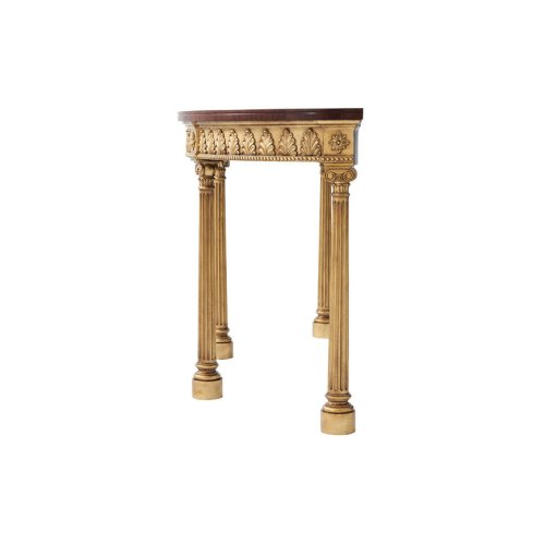 Gilded Eloquence Console Table