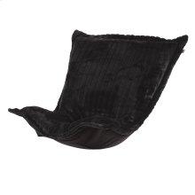 Puff Chair Cushion Mink Black