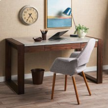 "72"" Lotus Writing Desk in NativeStone®"